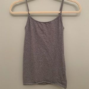 Tops - Grey Cotton Cami